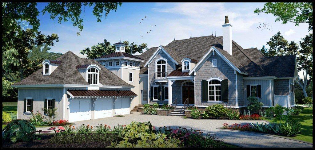 Arkiteknic custom homes lowcountry home magazine for Custom home builder magazine