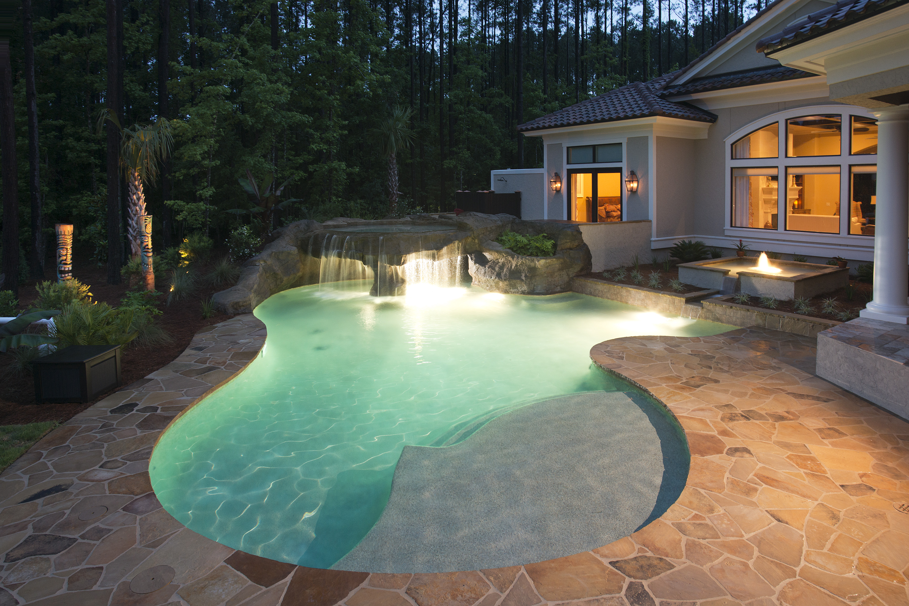 Yearround Pool Lowcountry Home Magazine