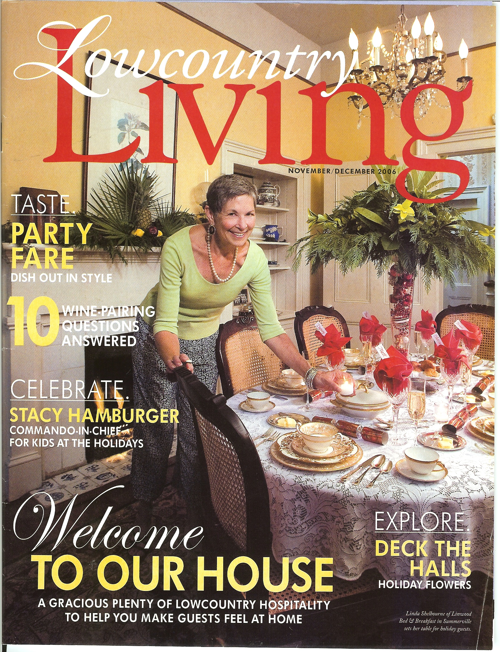 Living Magazine discovering spaces lowcountry home magazine